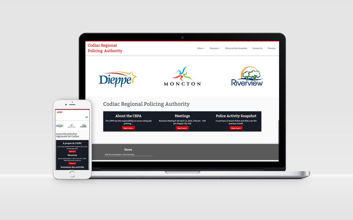Mockup - CRPA website