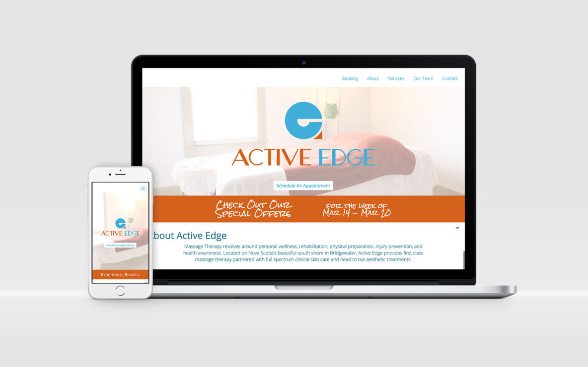 active edge website responsive