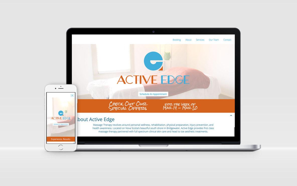 active edge website responsive