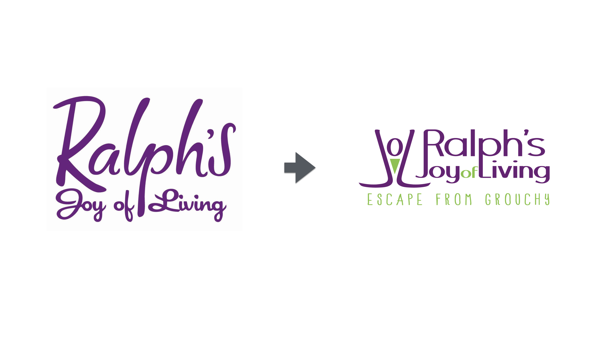 Logos compared - Ralph's Joy of Living
