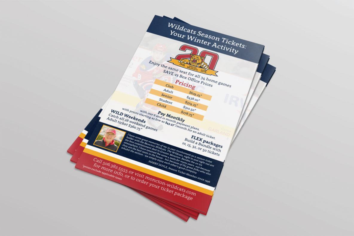 Wildcats Season Ticket brochure