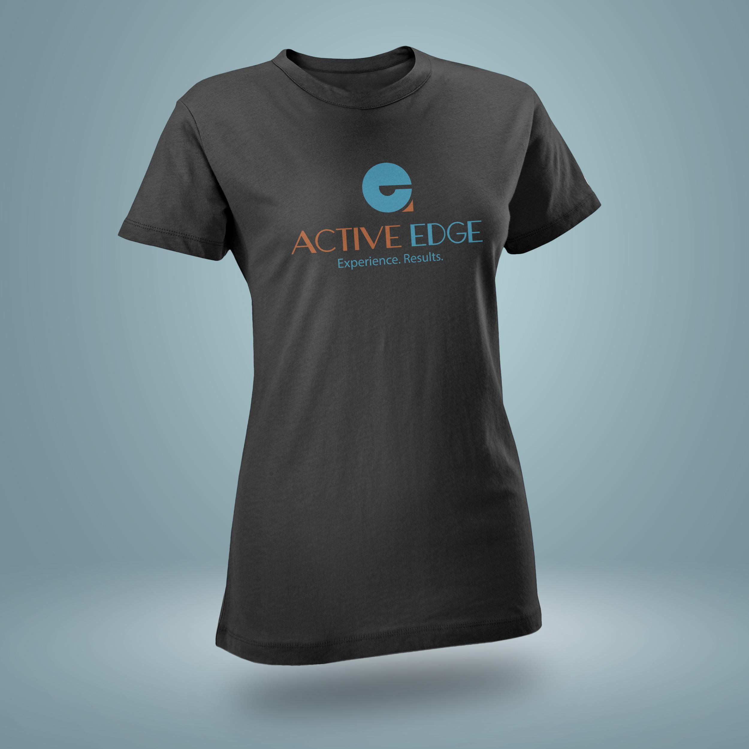 T-shirt mockup - Active Edge